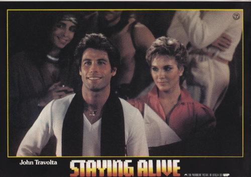 Staying Alive (John Travolta) 8 Aushangfotos