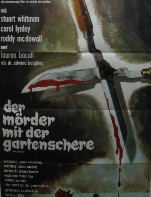 Der Mörder mit der Gartenschere