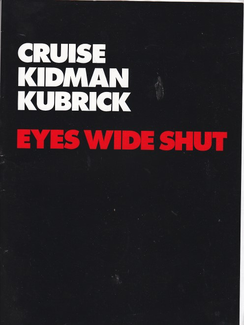 Eyes Wide Shut (Presseheft / Pressbook)