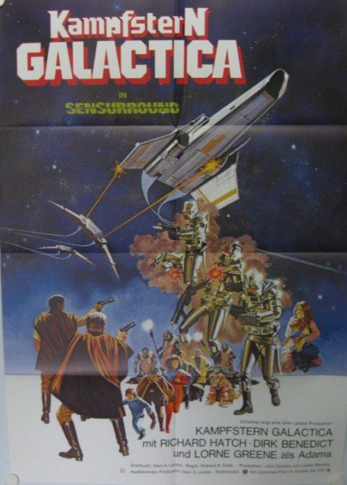 Kampfstern Galactica (Din A1 Plakat/ German One Sheet)