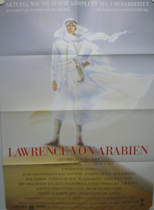 Lawrence von Arabien (Din A1 Plakat/ German One Sheet)