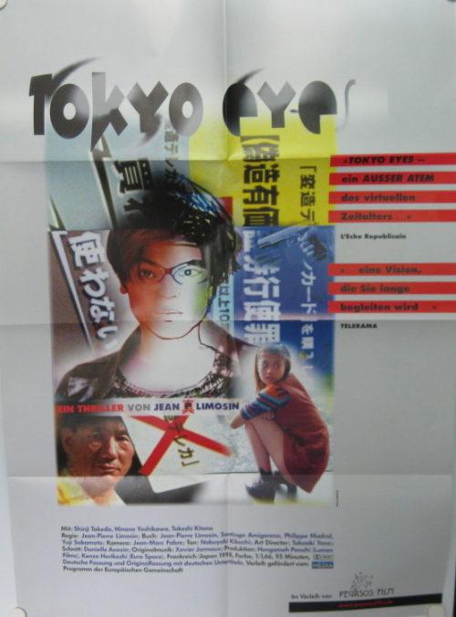 Tokyo Eyes (Din A1 Plakat/ German One Sheet)