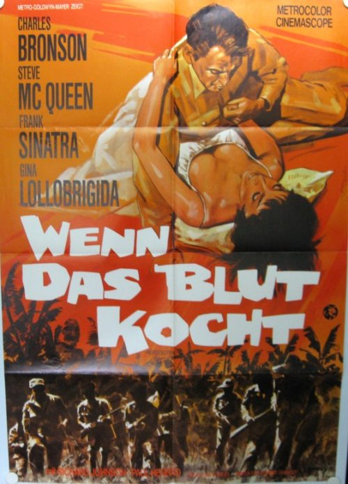 Wenn das Blut kocht (Din A1 Plakat/ German One Sheet)