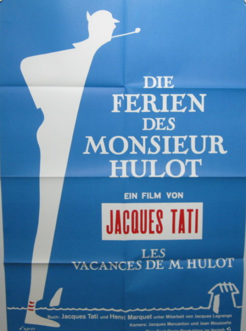 Die Ferien des Monsieur Hulot (Din A1 Plakat/ German One Sheet)