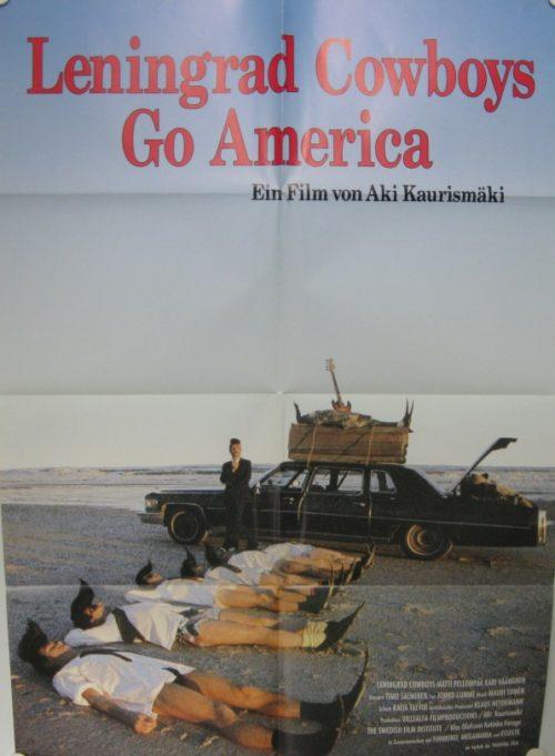 Leningrad Cowboys Go America (Din A1 Plakat/ German 1Sheet)