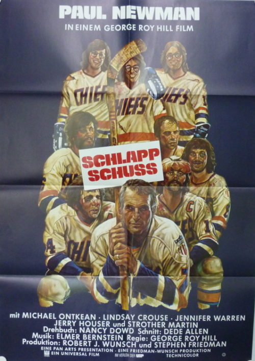 Schlappschuss (Din A1 Plakat/ German One Sheet)