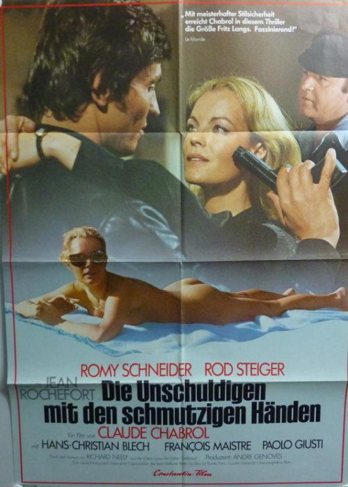 Die Unschuldige mit den schmutzigen Händen (Din A1 Plakat/ German One Sheet)