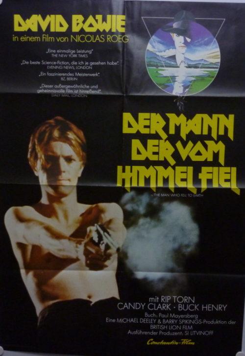 Der Mann, der vom Himmel fiel (Din A1 Plakat/ German One Sheet)