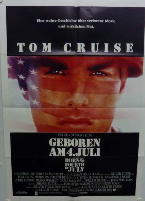 Born on the Fourth of July (Germ. 1sheet)