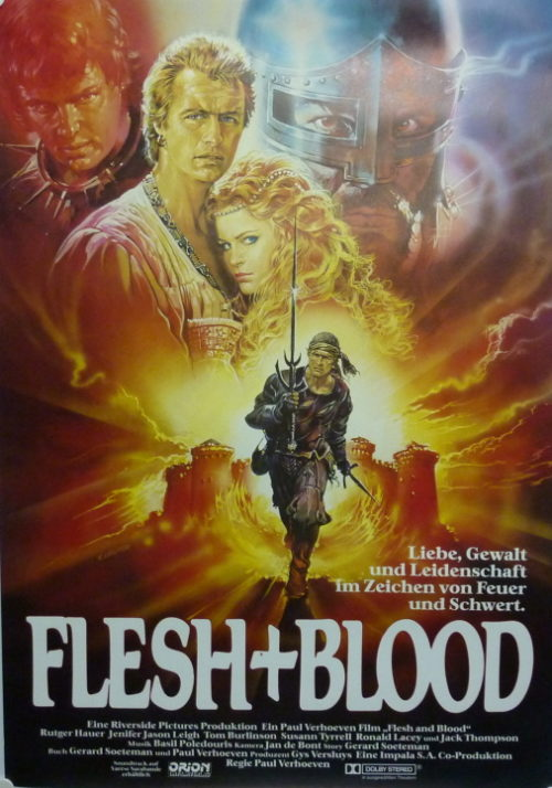 Flesh & Blood (Germ. 1sheet)