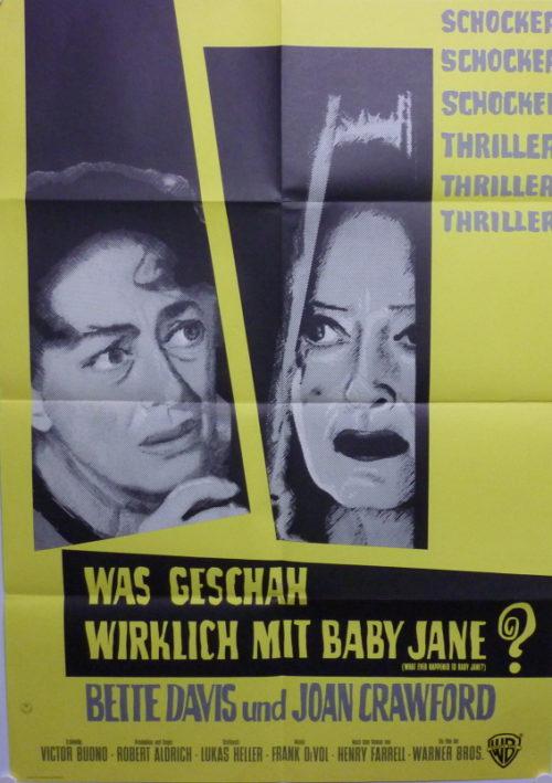 Was geschah wirklich mit Baby Jane? (Din A1 Plakat/ German One Sheet)