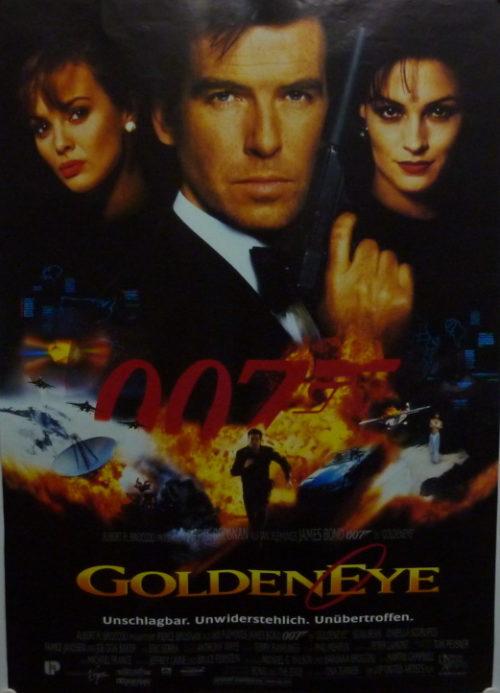 James Bond 007- GoldenEye (Din A1 Plakat/ German One Sheet)