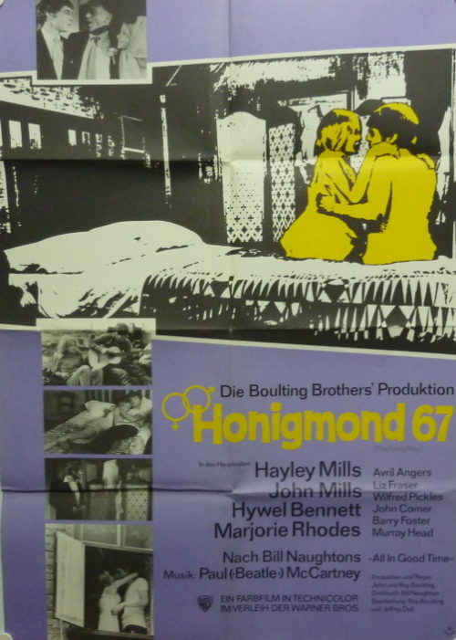 Honigmond'67 (Din A1 Plakat/ German One Sheet)