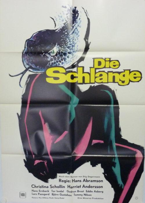Die Schlange (Din A1 Plakat/ German One Sheet)