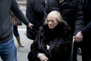 Anita Ekberg auf der Berlinale