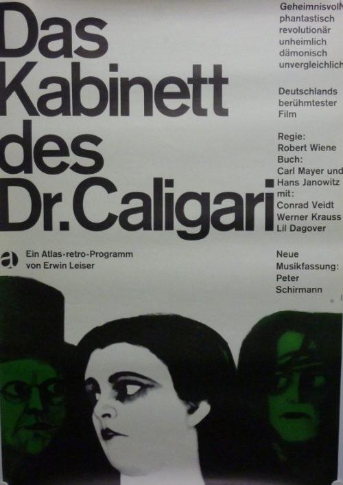Das Kabinett des Dr. Caligari (Din A1 Plakat/ German One Sheet)