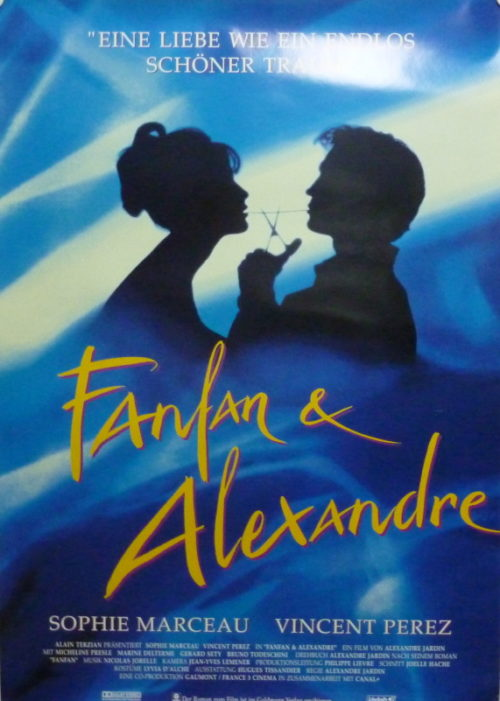 Fanfan & Alexandre (Din A1 Plakat/ German One Sheet)