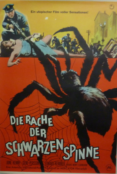 Earth vs. the Spider (Germ. 1sheet)