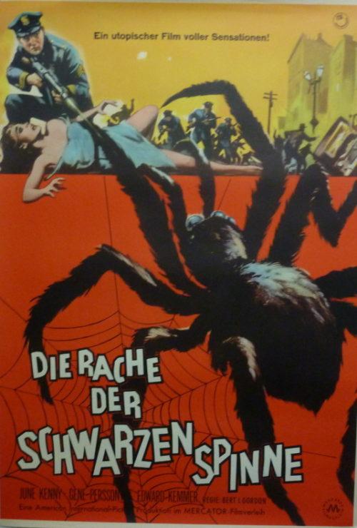 Die Rache der schwarzen Spinne (Din A1 Plakat/ German One Sheet)