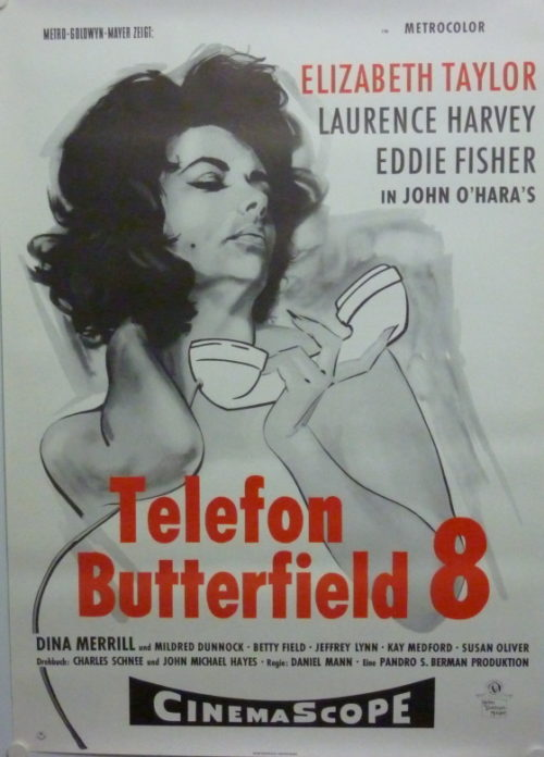 Butterfield 8 (Germ. 1sheet)