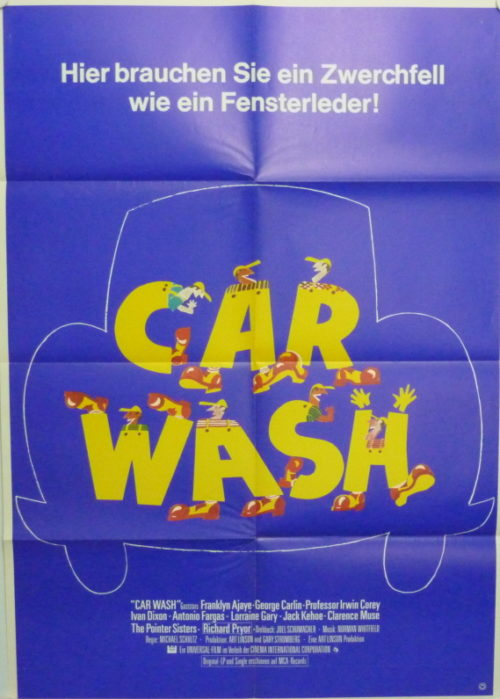 Car Wash (Din A1 Plakat/ Original German One Sheet)