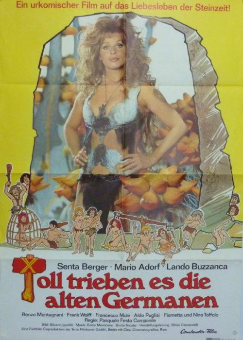 Toll trieben es die alten Germanen (Din A1 Plakat/ Original German One Sheet)