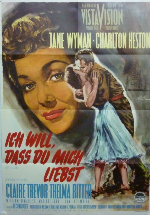 Ich will, daß du mich liebst (Din A1 Plakat/ Original German One Sheet)