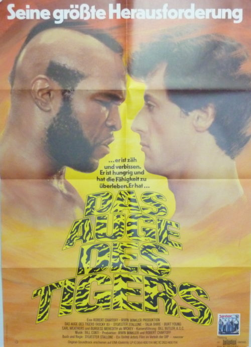 Rocky III- Eye of the Tiger (Germ. 1sheet)