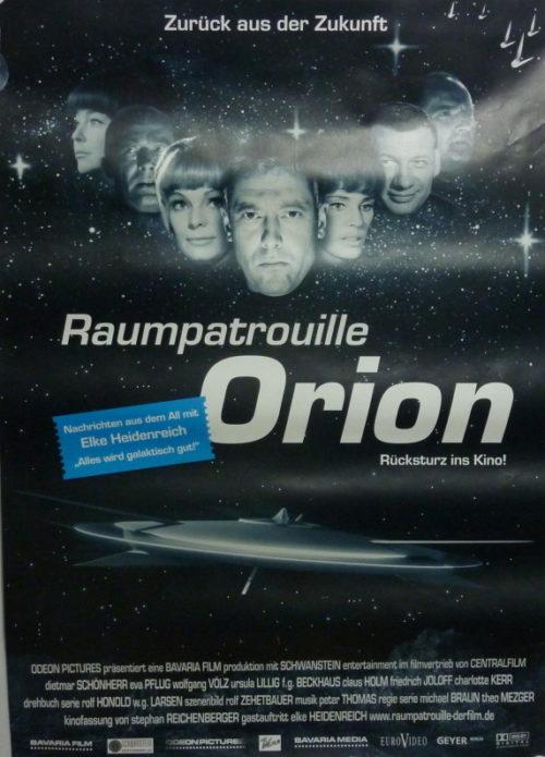 Raumpatrouille – Die phantastischen Abenteuer des Raumschiffes Orion (Din A1 Plakat/ Original German One Sheet)