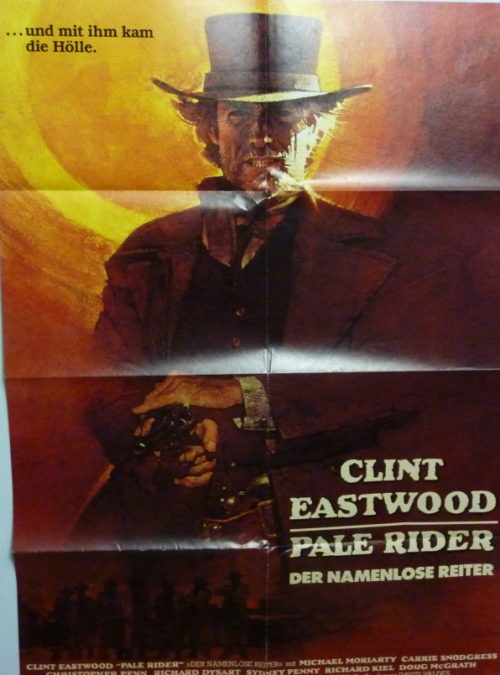 Pale Rider- Der namenlose Reiter (Din A1 Plakat/ Original German One Sheet)