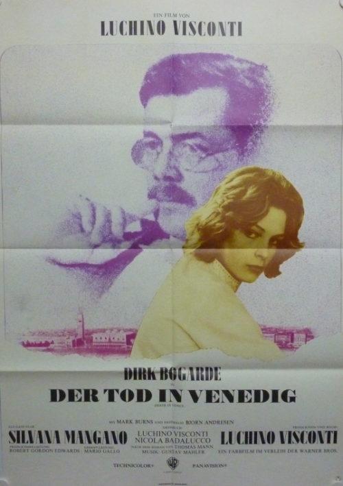 Tod in Venedig (Din A1 Plakat/ Original German One Sheet)