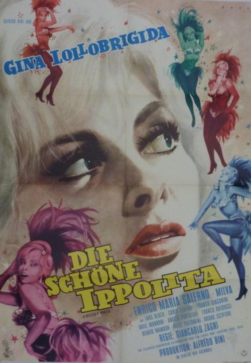 Die schöne Ippolita (Din A1 Plakat/ Original German One Sheet)