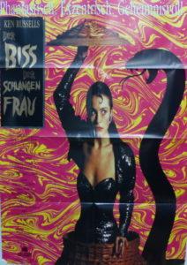 Der Biss der Schlangenfrau (Din A1 Plakat/ Original German One Sheet)