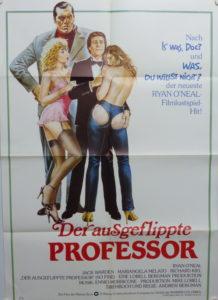 Der ausgeflippte Professor (Din A1 Plakat/ Original German One Sheet)