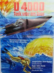 U 4000- Panik unter dem Ozean (Din A1 Plakat/ Original German One Sheet)
