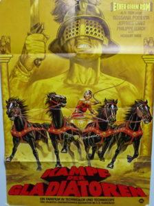 Kampf der Gladiatoren (Din A1 Plakat/ Original German One Sheet)