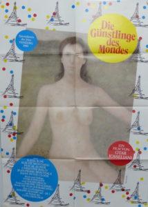 Die Günstlinge des Mondes (Din A1 Plakat/ Original German One Sheet)