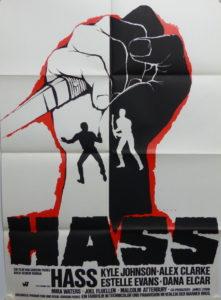Hass (Din A1 Plakat/ Original German One Sheet)