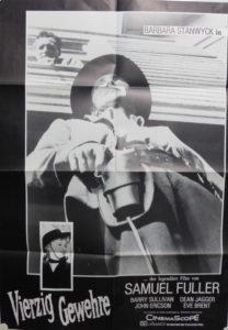40 Gewehre (Din A1 Plakat/ Original German One Sheet)