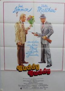 Buddy Buddy (Din A1 Plakat/ Original German One Sheet) Billy Wilder