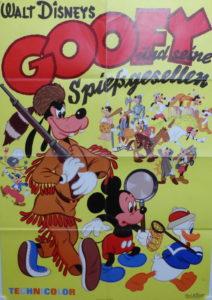 Goofy und seine Spießgesellen (Din A1 Plakat/ Original German One Sheet)