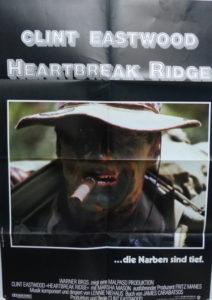 Heartbreak Ridge (Din A1 Plakat/ Original German One Sheet) Clint Eastwood