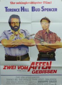Zwei vom Affen gebissen (Gott vergibt…wir beide nicht) Din A1 Plakat/ Original German One Sheet