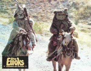 Star Wars: Ewoks – Karawane der Tapferen (Original Fotosatz- 18 Fotos)( Original German Lobbycards