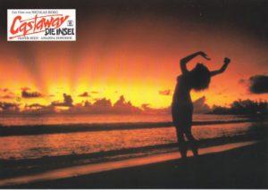 Castaway- Die Insel (Oliver Reed) -16 Aushangfotos/ 16 Original German Lobbycards