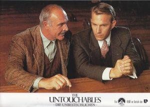 The Untouchables- Die Unbestechlichen (16 Aushangfotos/ 16 original german lobbycards)