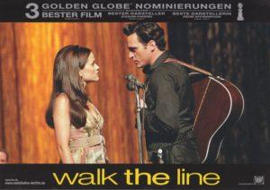 Walk the Line (4 Aushangfotos/ 4 original german lobbycards)