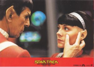 Star Trek VI: Das unentdeckte Land (16 Aushangfotos/16 original german lobbycards)