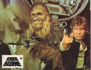 Star Wars- Krieg der Sterne – 24 Lobbycards first release