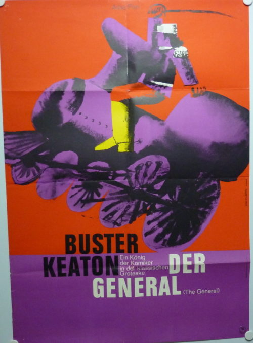 Der General (Din A1 Plakat/ German One Sheet)